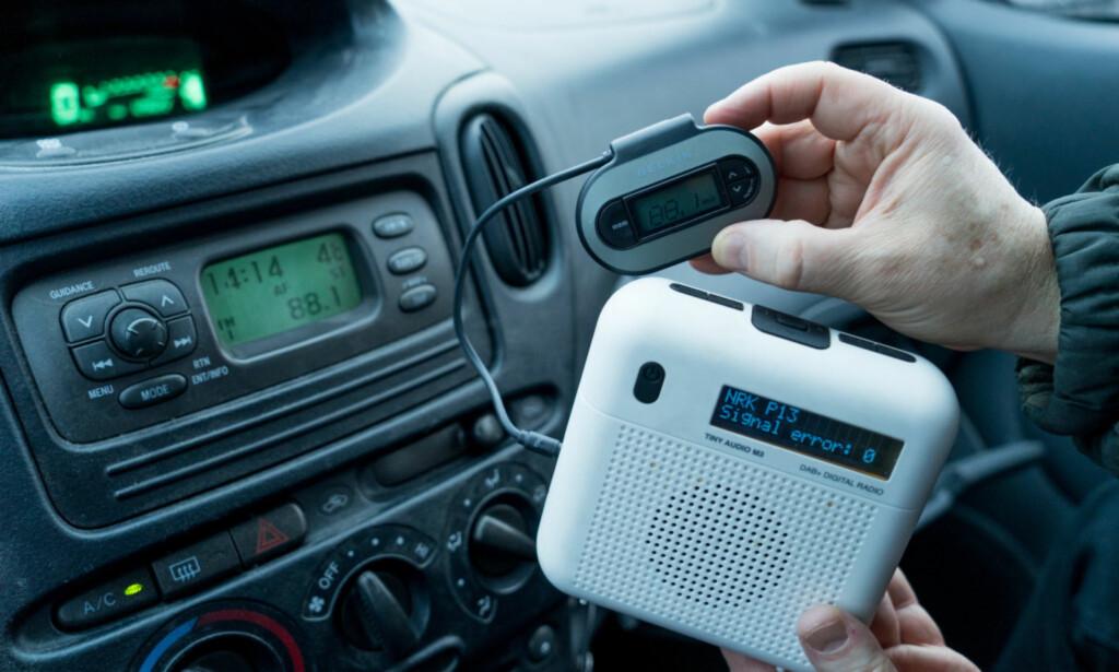 ENKELT OG BILLIG: Har du en batteridrevet DAB+-radio fra før, slipper du unna med 219 kroner. Foto: Per Ervland