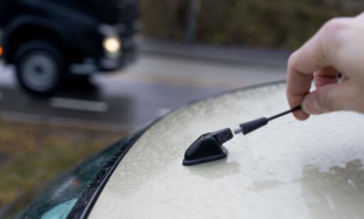 FORSTYRRER: Det er best å kvitte seg med den gamle FM-antenna. Foto: Per Ervland