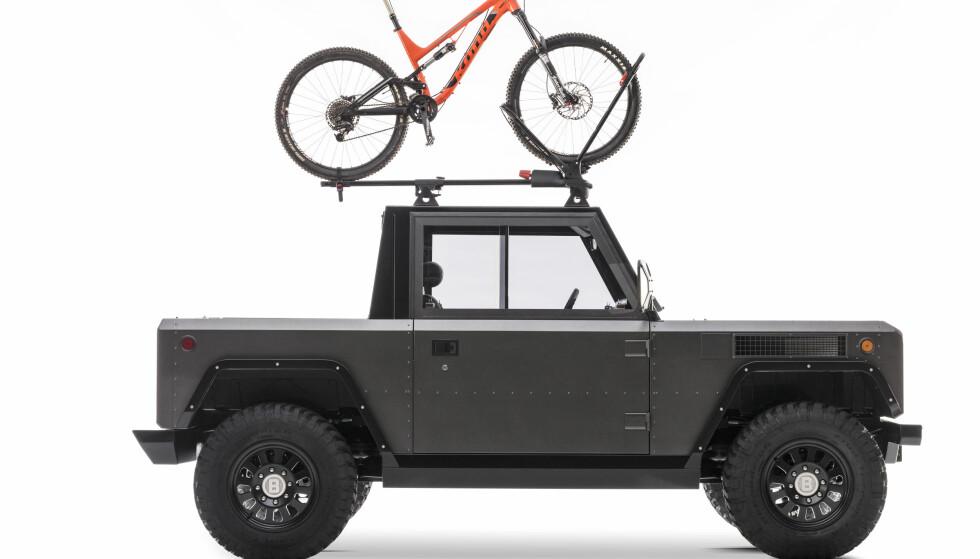 Pickup: Har du mer bruk for en pickup? Ingen problem. Foto: Bollinger