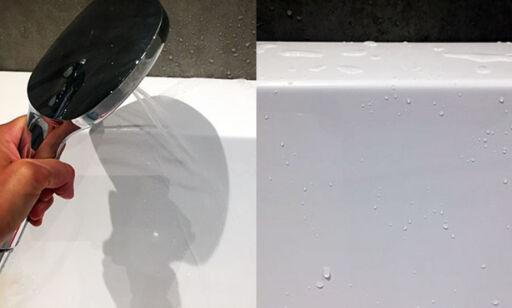 image: Rengjør badekaret med neglelakkfjerner
