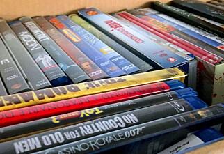 Sterk vekst i salg av Blu-ray