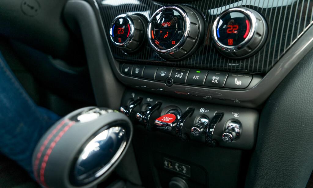 KLASSISK: Vippebrytere fører tankene tilbake til bilens barndom. Foto: Per Ervland