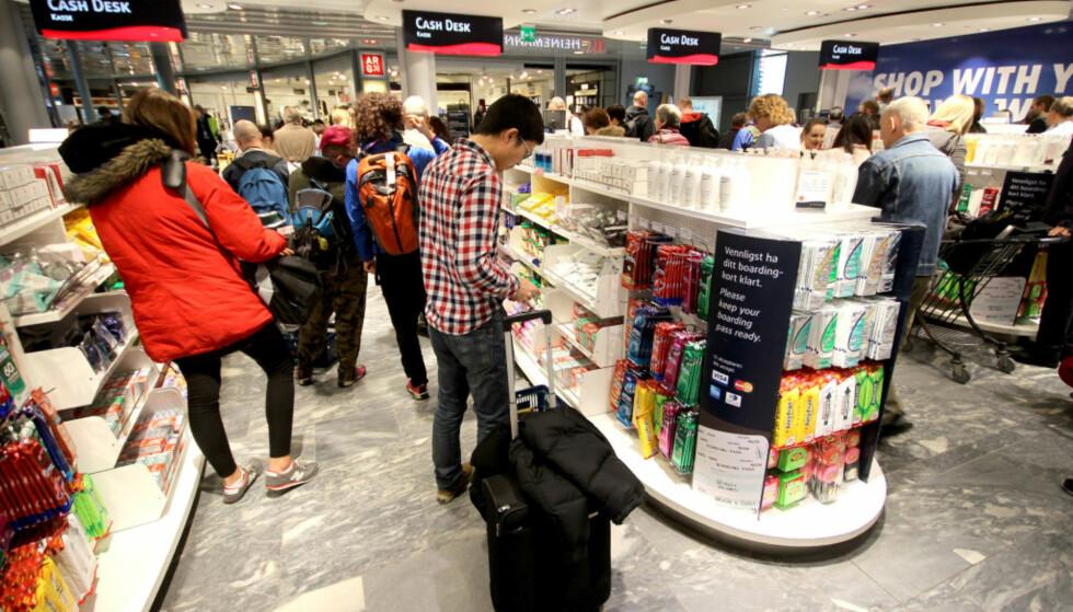 DØGNÅPENT: Du går aldri glipp av kvoten din på Gardermoen. Foto: Ole Petter Baugerød Stokke.