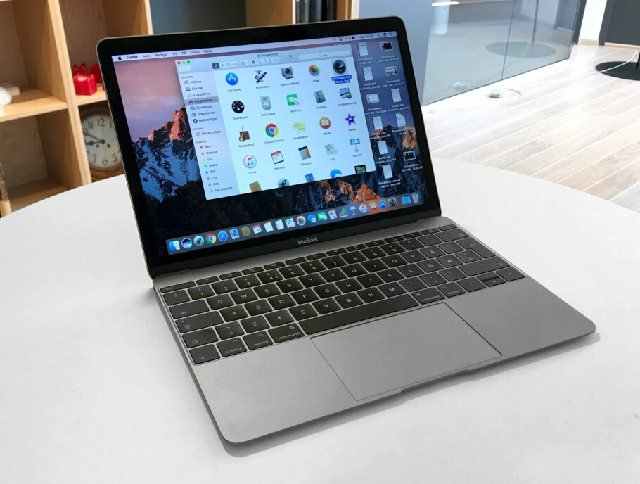 RENT OG LINJELEKKERT: Apples nye Macbook gjorde et solid inntrykk på Dinsides testpanel. Foto: Bjørn Eirik Loftås