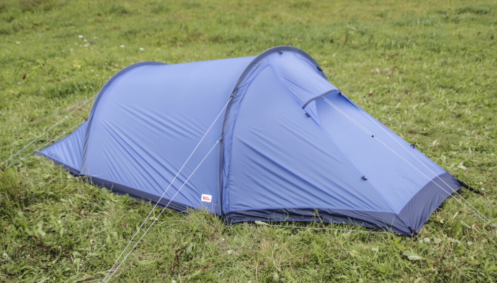 Forseggjort: Fjällräven har laget et telt med mange gjennomtenkte løsninger og fine detaljer. Øivind Lie-Jacobsen