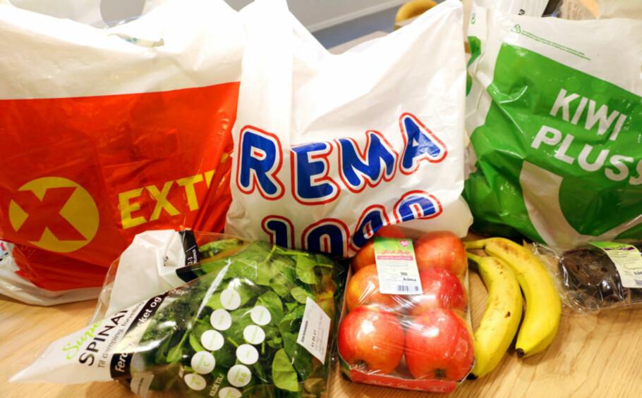 SAMMENLIKNER PRIS: Tjenesten fra Forbrukerrådet sammenlikner priser på dagligvarer, men blant annet frukt og grønt er ikke med. Foto: Kristin Sørdal