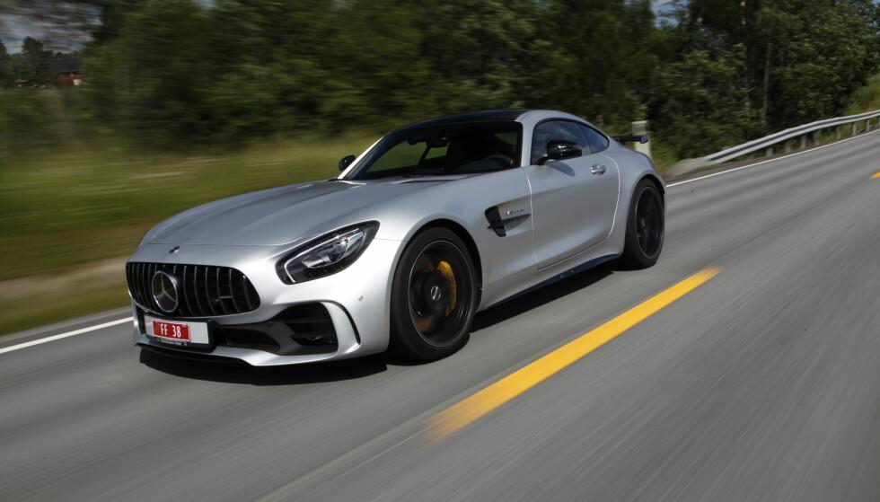 Det mest brutale Mercedes har å by på