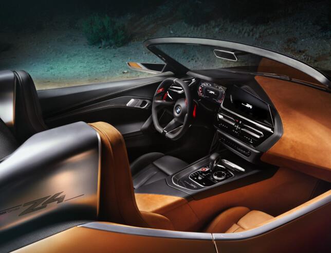 3D: BMW forklarer at designspråket i interiøret er en videreføring av det tredimensjonale uttrykket i eksteriøret med rene flater og skarpe vinkler, og understreker den presise og minimalistiske estetikken som gjennomsyrer hele BMWs nye designkonsept. Foto: BMW