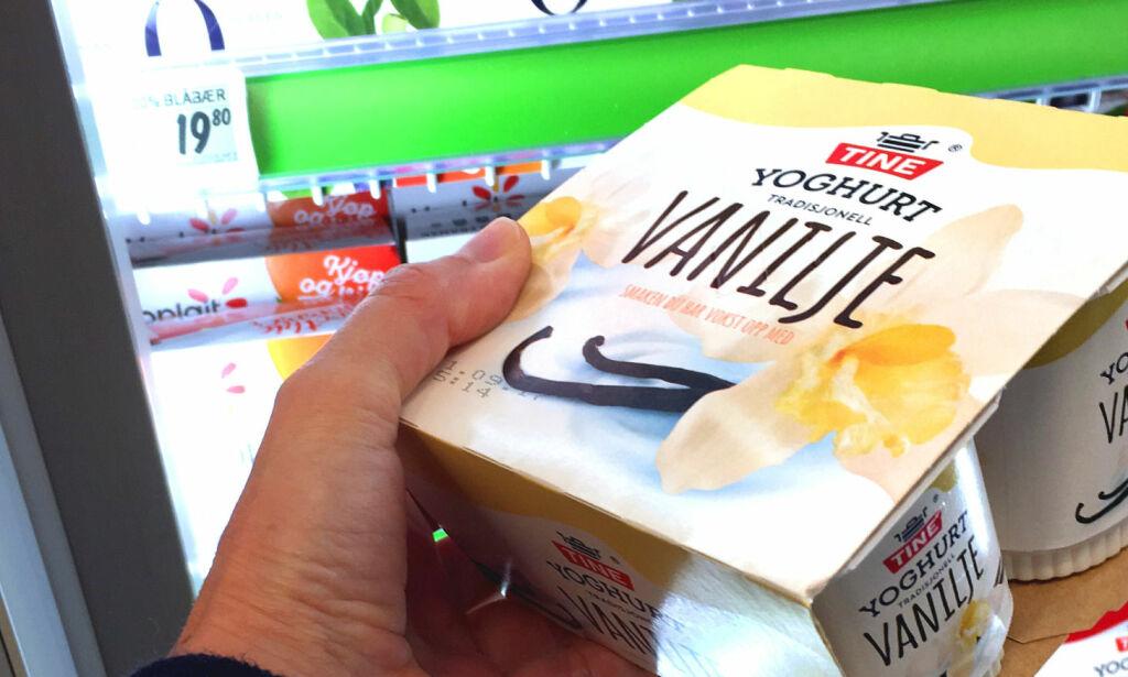 image: Skolemelk-yoghurt er dobbelt så dyrt som i butikken