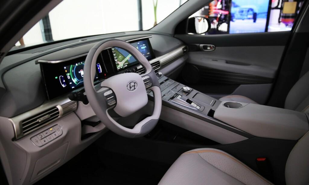 KOMMER TIL CES: I Las Vegas i januar får vi vite mer om Hyundais hydrogenbil og de nye assistansesystemene. Foto: Hyundai
