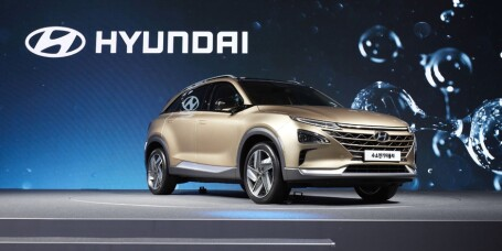 Neste generasjon hydrogendrevet SUV