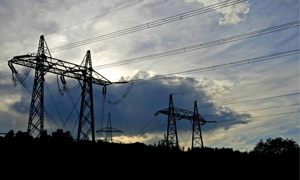TROR STRØMPRISENE VIL STIGE: Strømprisen har steget kraftig de siste ukene, og vil fortsette å stige, ifølge kraftanalytiker. Foto: NTB scanpix