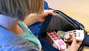 image: Er skolemelka og yoghurten med hjem? Se om de fortsatt er brukbare