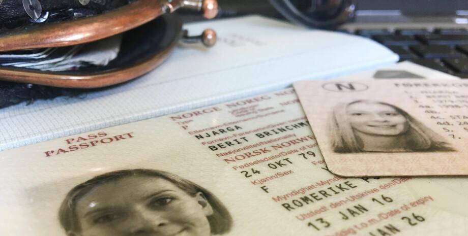 LANGT NAVN? Se hva som skjer hvis det ikke er plass til alle dine, for-, mellom- og etternavn i passet og på førerkortet. Foto: Berit B. Njarga