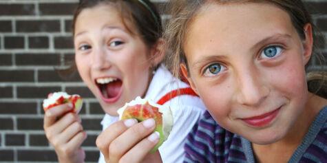 image: Ja, det lønner seg å bestille frukten fra Skolefrukt