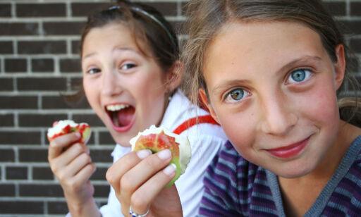image: Er frukten billigst på skolen eller i butikk?