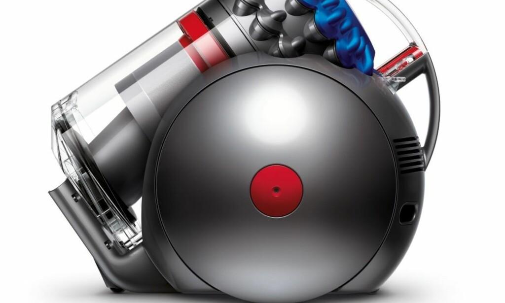 UTEN POSE: Dyson BigBall er én av de poseløse støvsugermodellene som selges på det norske markedet. Men nå har også andre produsenter begynt å komme etter. Foto: Dyson