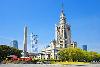 WARSZAWA: Moderne by med både billige reiser, mat og kulturopplevelser. Foto: Shutterstock/NTB Scanpix