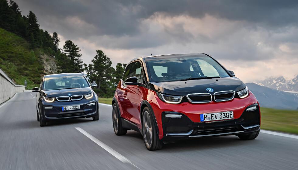 SAMLET: I denne saken presenterer vi rekkevidde-tallene på BMW i3 og flere elbiler fra flere internasjonale tester. Foto: BMW