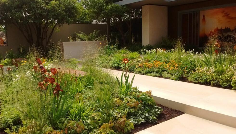 ELEMENTER: Noen elementer du velger, vil vare i hagen, mens andre elementer kan fjernes eller endres på funksjonelt. En sandkasse kan for eksempel bli til en plantekasse senere. Foto: Simone Winkler.