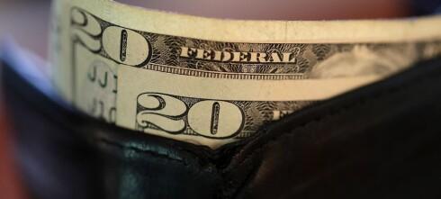 Endelig er dollaren blitt billigere