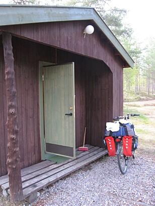 MITT HJEM FOR NATTEN: På Koppang Camping & Hytteutleie. Foto: Bjørn Eirik Loftås