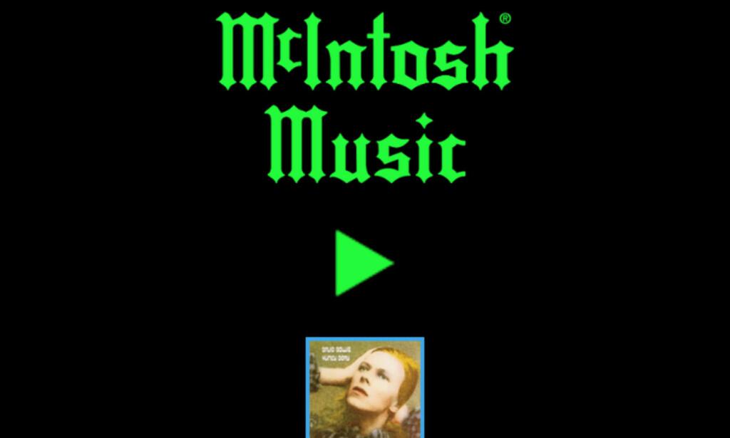 GRATIS FRA DYRT MERKE: McIntosh er kjent for sine svindyre forsterkere og annet hifi-utstyr. Radiokanalen deres er heldigvis helt gratis. Foto: Tore Neset