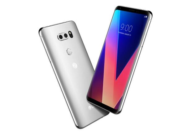 LG V30 kan by på 6 tommers OLED-skjerm, to kameraer i bakkant og solid prestasjon på lydfronten. Foto: LG