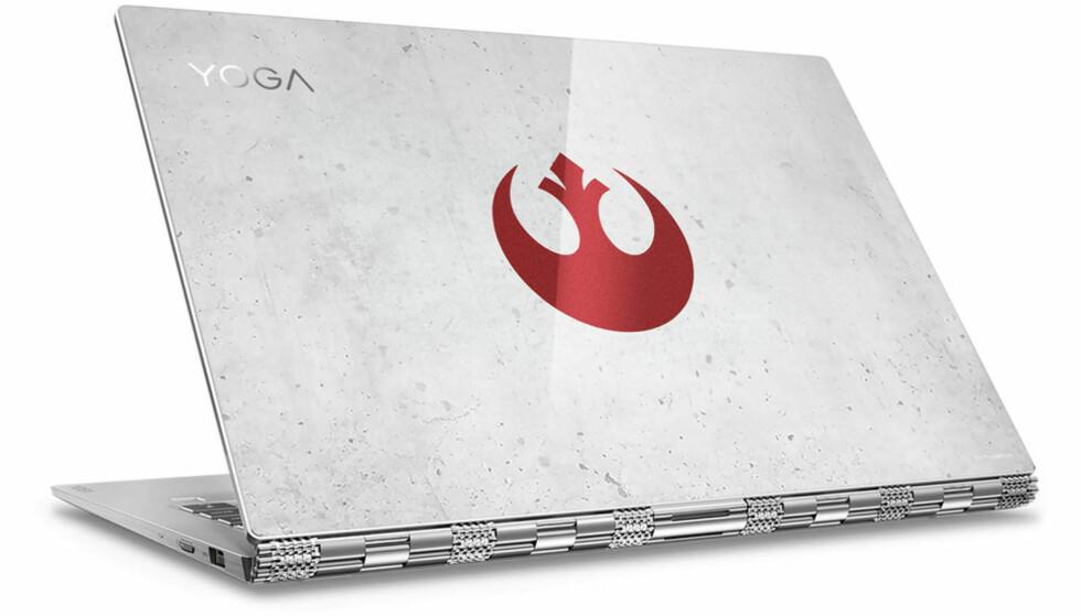 STAR WARS-FAN? Yoga 920 kan fås i både rebel- og imperial-utgave. Foto: Lenovo