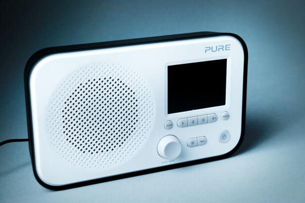 <strong>SMÅTTIS-PURE:</strong> Den britiske produsenten er kjent for sine staselige, større radioer. Elan 3 er en mini-utgave. Foto: Ole Petter Baugerød Stokke