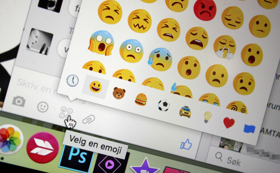 SMILEFJES, NEI TAKK? Vi kuttet ut all bruk av emotikons i én uke. Foto: KIRSTI ØSTVANG