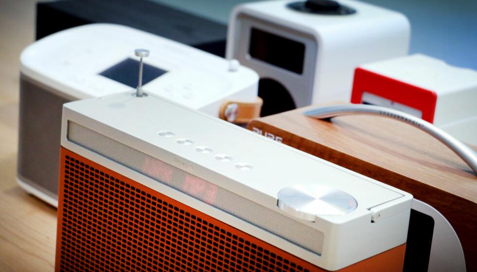 TOPPKLASSEN: Er du villig til å punge ut et par-tre tusenlapper for en DAB-radio, kan du velge blant disse. Foto: Ole Petter Baugerød Stokke