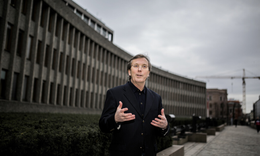 Dag Jørgen Hveem, høyskolelektor ved Institutt for rettsvitenskap og styring på Handelshøyskolen BI. Foto: Torbjørn Brovold.