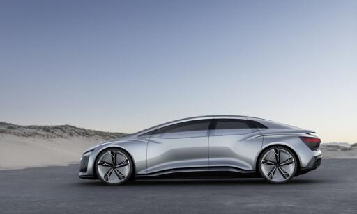 Designspråk: Audi Aicon viser helt nye takter. Foto: Audi
