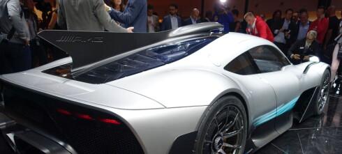 Mercedes-hyperbilen med over 1000 hester