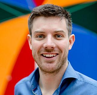 Christopher Conradi, norgessjef for Google Cloud. Foto: Svein Finneide/SF Foto.