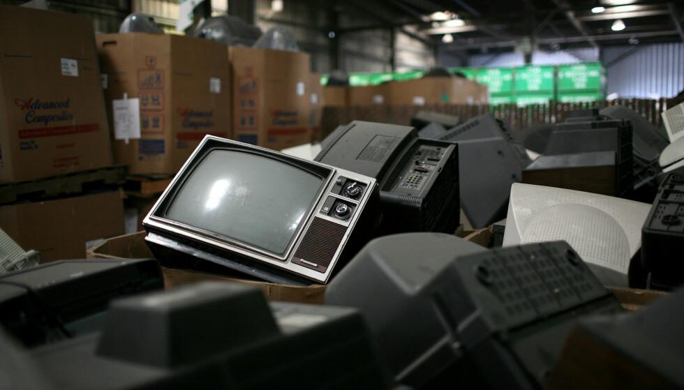 <strong>BILDET BLIR BORTE:</strong> Flere Canal Digital-kunder vil bli rammet når Telenor slukker de analoge TV-signalene mandag. Foto: Justin Sullivan/Getty Images/AFP.