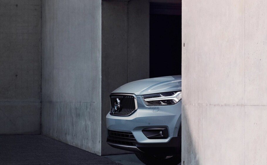 ÅRETS BIL I VERDEN? Volvo XC40 (bildet) og XC60 er begge nominert i konkurransen World Car of the Year (WCOTY) 2018. Foto: Volvo