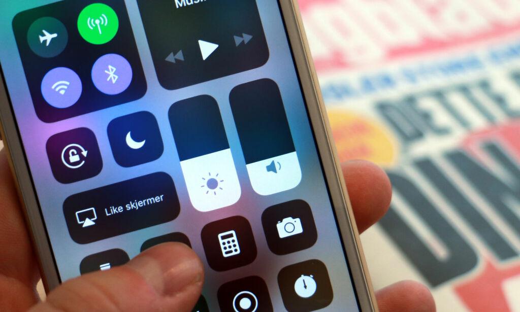 image: Her er 11 nyheter i iOS 11