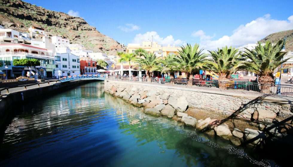 SPANIA: Fire turer til Spania kostet mannen 137.000 kroner i sykepenger. Her fra Puerto Mogan på Gran Canaria. Foto: Ole Petter Baugerød Stokke