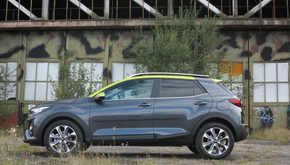 KORT, MEN STOR: Med et hjul i hvert hjørne blir det store kjøreegenskaper på en liten bil. Foto: Fred Magne Skillebæk