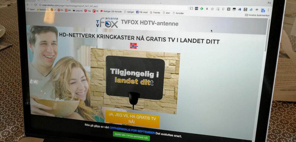 image: «Helt gratis, helt lovlig og millioner av nordmenn bruker det»