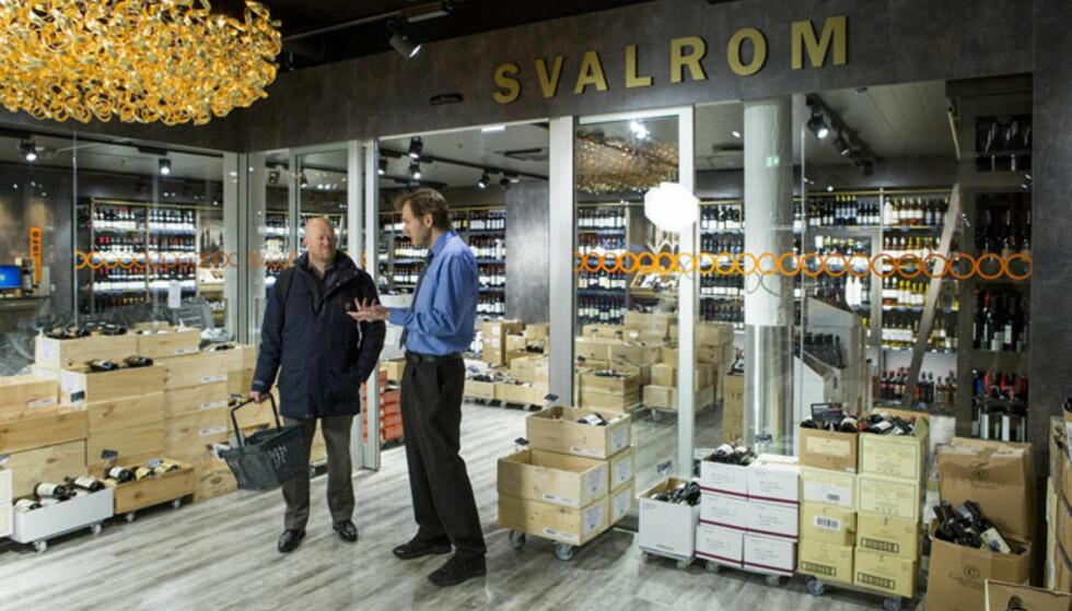 SPESIALBUTIKK: Vinmonopolet kan skilte med sju spesialbutikker med utvidet utvalg i alle kategorier. Her fra Aker Brygge i Oslo, som også er en av de sju utsalgene som spesialiserer seg på øl. Foto: Håkon Mosvold Larsen/NTB Scanpix