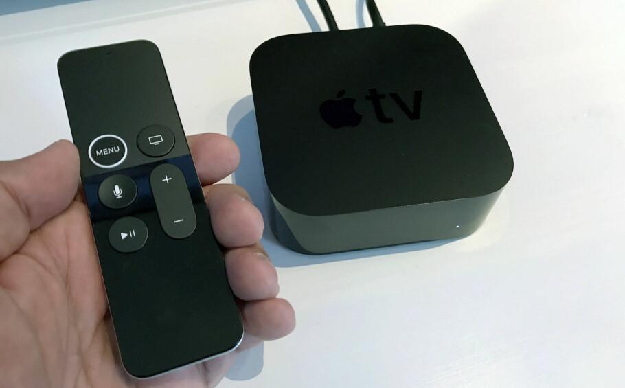<strong>ENDA BEDRE:</strong> Den nye Apple TV har fått støtte for HDR og 4K-oppløst video- og bildemateriale. Foto: Bjørn Eirik Loftås