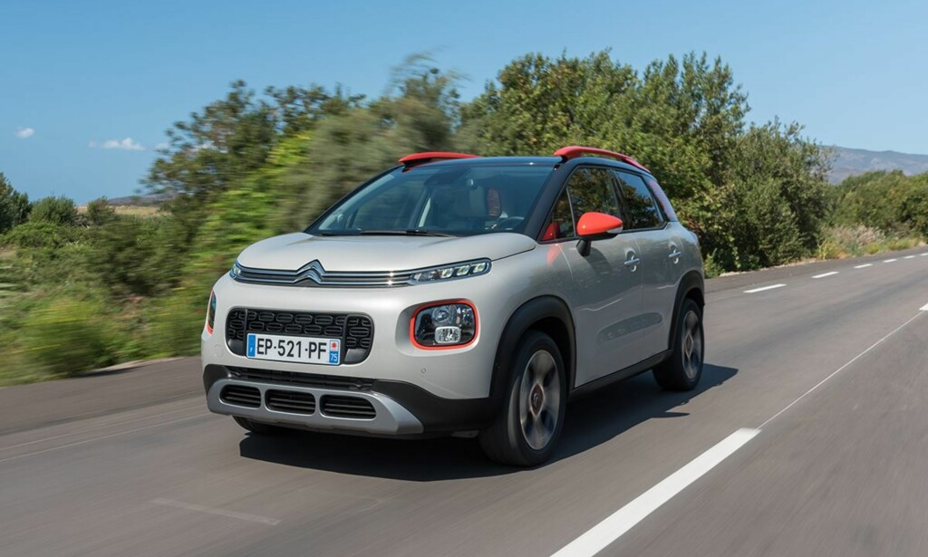 SIN EGEN STIL: Her er bare ett av eksemplene på fargekombinasjoner som kan velges. Foto: Citroën