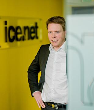 JOBBER MED SAKEN: Ice.net-sjef Eivind Helgaker er klar over at prisene er for høye i Monaco. De jobber med å få på plass en avtale så prisene kan bli lavere. Foto: Ice.net