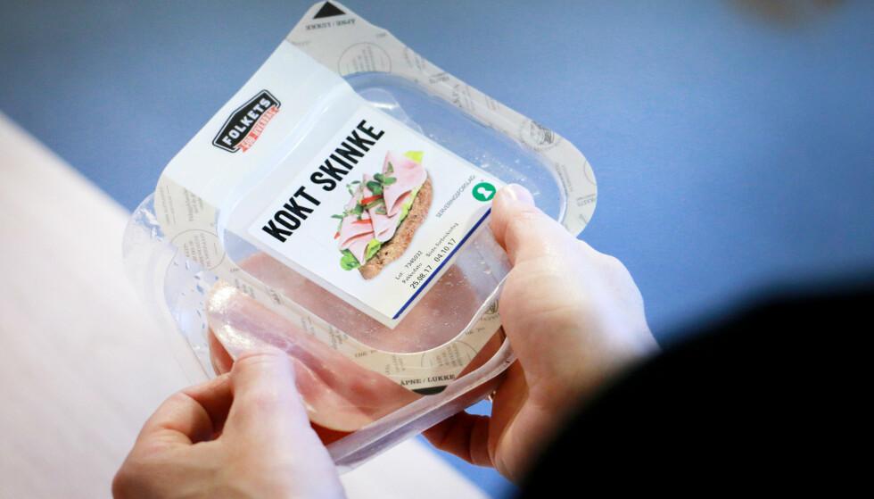 <strong>TETT:</strong> SKinkeproduktene hadde jevnt over bedre emballasje enn de andre påleggstypene. Foto: Ole Petter Baugerød Stokke