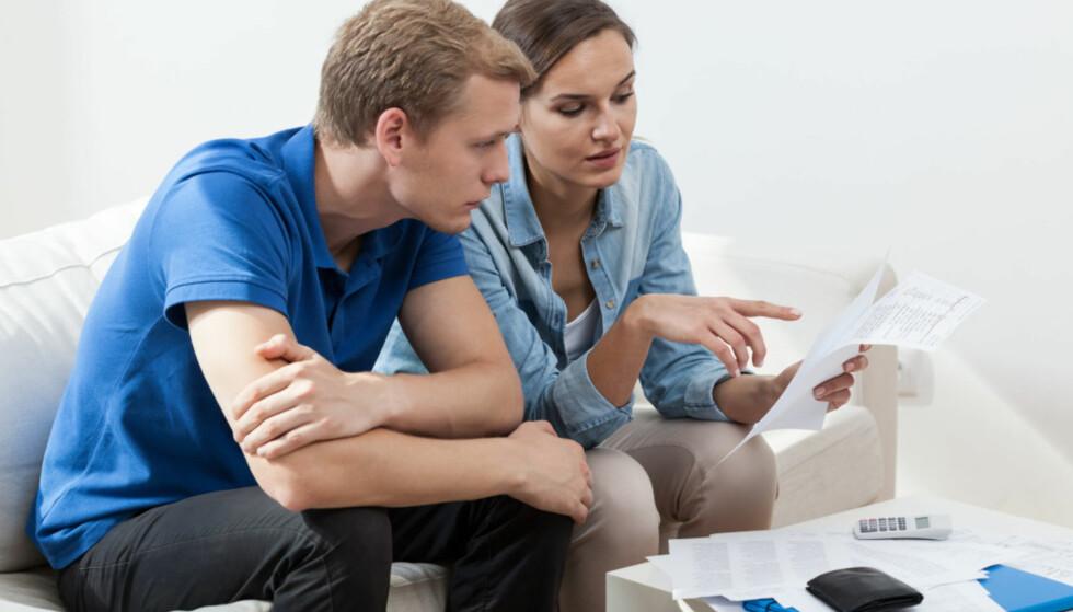 HVA OM: Før samboerskapet eventuelt tar slutt, er det viktig å gjøre seg opp noen tanker om hva som skjer med felles lån. Foto: Shutterstock/NTB Scanpix.