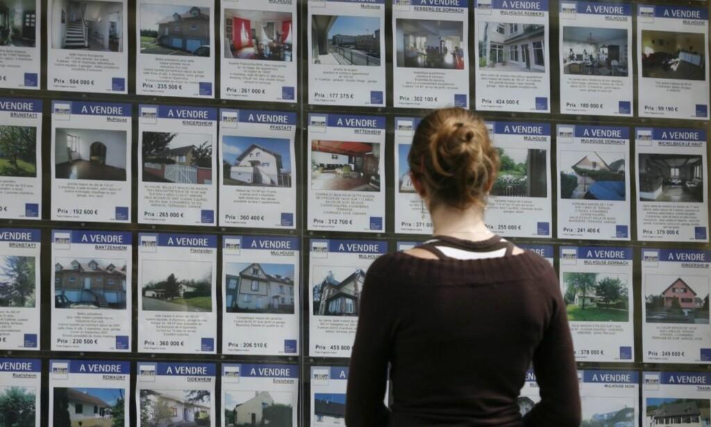 PÅ VISNING: Lite eller stort, uansett lånesum måler banken deg opp mot noen kriterier, som avgjør hvor mye du får i boliglån. Foto: Colourbox