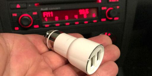 image: Med denne pluggen til en hundrelapp trenger du ikke DAB i bilen